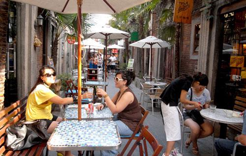 Taikang Lu, rincón bohemio en Shanghai