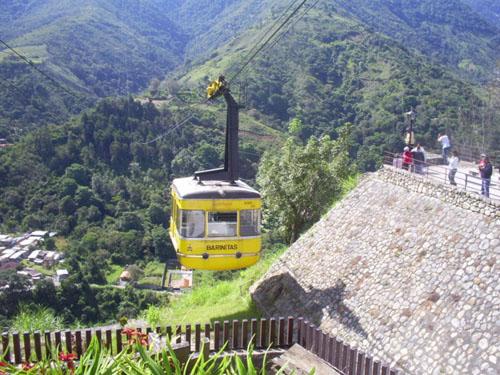 El teleférico de Mérida, el más alto del mundo