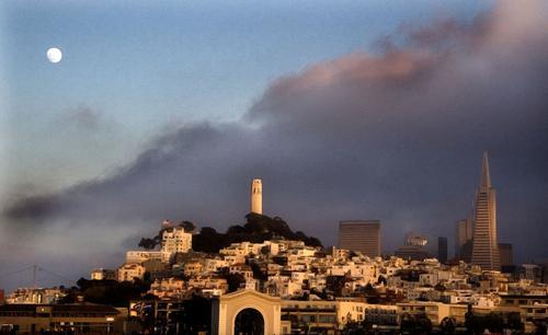 La Torre Coit y sus murales, en San Francisco