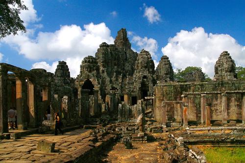 El Templo Bayon, símbolo de Camboya