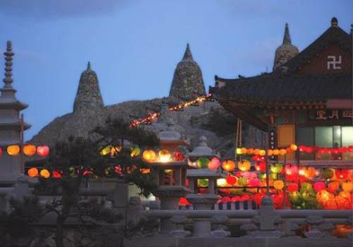 Yonggung-sa, un templo que mira al mar