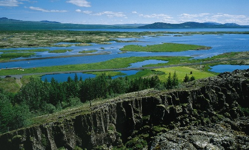 El Parque Nacional Thingvellir, en Islandia