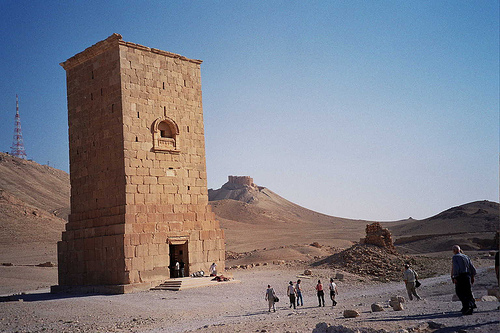 La torre funeraria de Elahbel, en Palmyra
