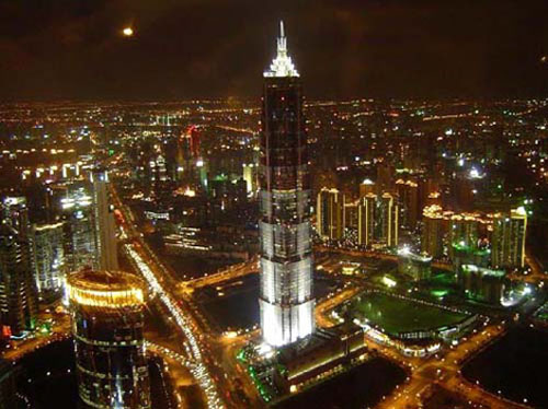 La Torre Jin Mao, símbolo de Shanghai