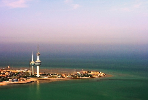 Las Torres de Agua, ciencia ficción en Kuwait