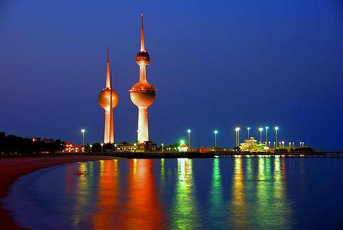 torres de agua kuwait