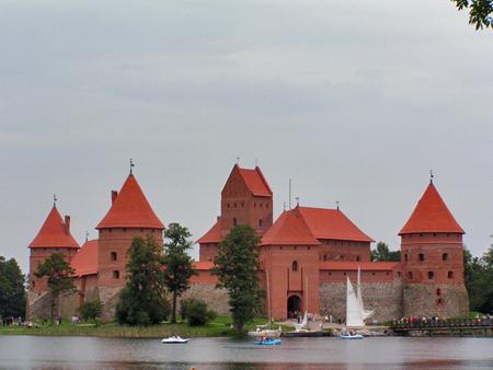 El Castillo de Isla, en Trakai (Lituania)