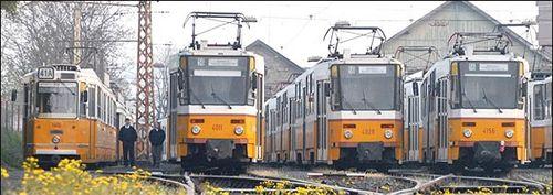 La linea 2 del tranvia de Budapest