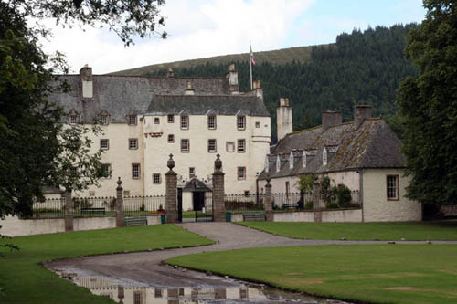 traquair house en Escocia