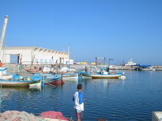 Pueblo del archipiélago de Kerkennah, Túnez