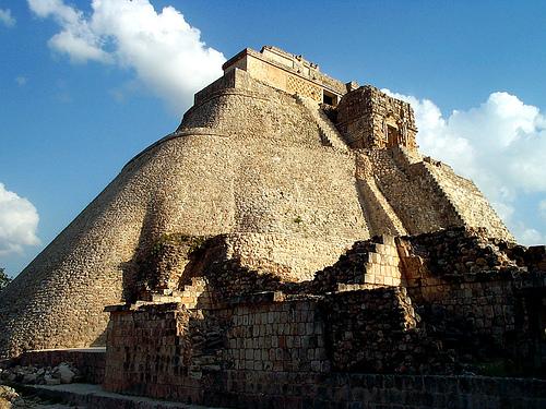 Las ruinas de Uxmal, en México