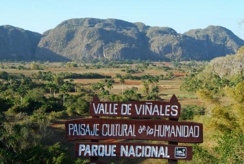 El Valle de Viñales, en Cuba