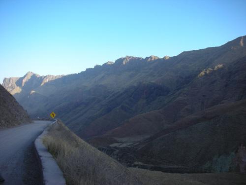 La Vuelta a los Valles, ruta en Argentina
