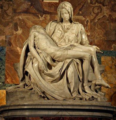 Piedad Rondanini, Vaticano, Miguel Ángel