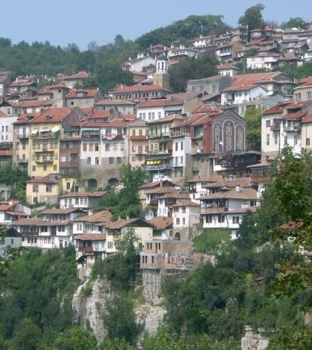 Veliko Turnovo, centro cultural de Bulgaria