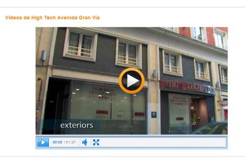 Búsqueda de hoteles con video