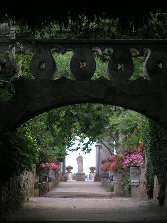 Jardines en Villa Cimbrone