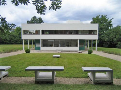 Villa Saboya, Le Corbusier en París