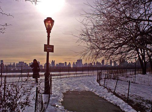 Vista de Nueva York desde el Battery Park