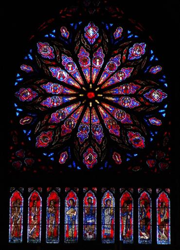 vitraux catedral Nidaros en Trondheim