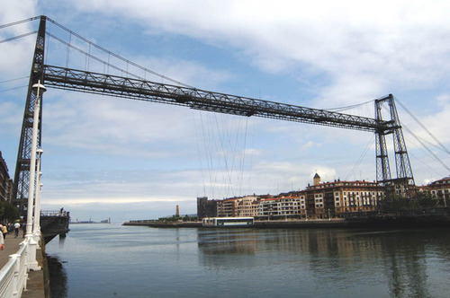Puente de Vizcaya, patrimonio en España