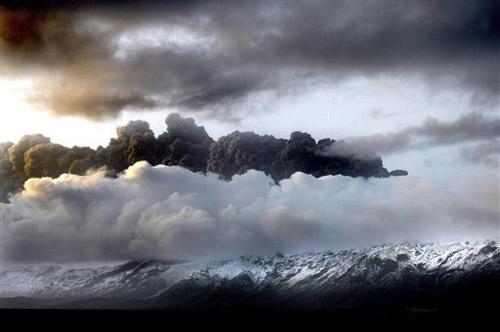 volcan en islandia