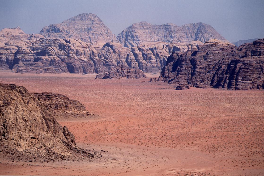Jordania: El desierto de Wadi Rum