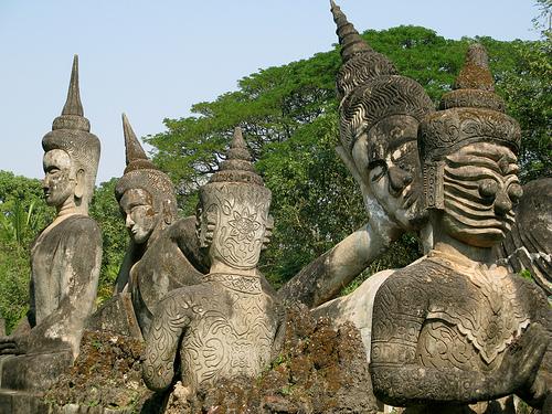 Xieng Khuan  parque budista del último siglo