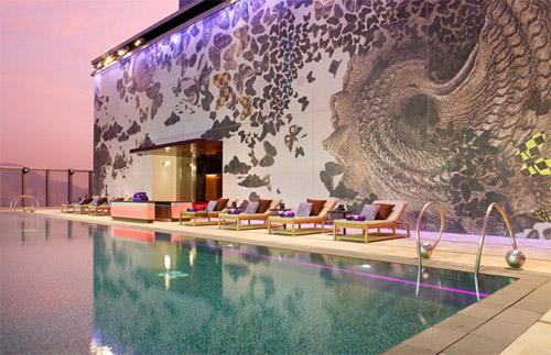 Hotel Boutique W, mariposas en Hong Kong