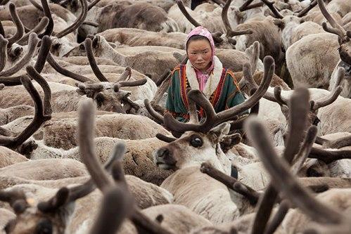 La península de Yamal, en Rusia